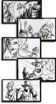 Storyboard selections web