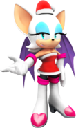 Sonic christmas rouge