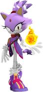 Sonic boom new blaze render