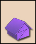 Purple Paper House