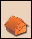 Orange Paper House