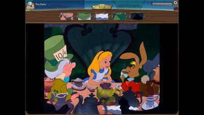 Tea Party Scene