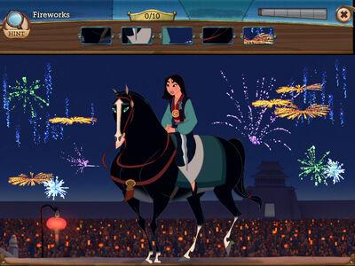Mulan - Fireworks