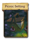 Picnic Setting