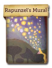 Rapunzel S Mural Disney Hidden Worlds Wiki Fandom