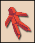 Red Paper Doll