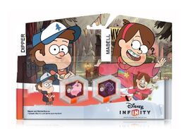 Gravity falls play set