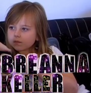Breanna with JESSIE letters