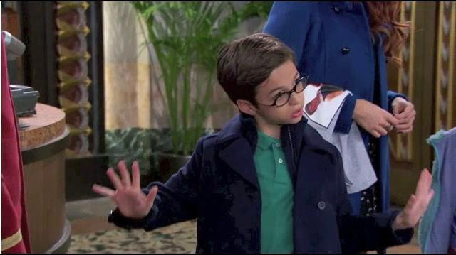 JJ Totah as Stuart Wooten on Jessie - Disney Channel