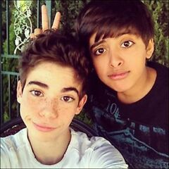 With Karan Brar