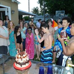 Boyce's 14th Birthday (with Skai Jackson, Debby Ryan, Maya Boyce And X-Mob)