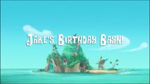 Jake and the Neverland Pirates Season 2 Title Card - Jake's Birthday Bash!