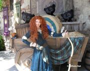 "Merida ""Meet and Greet"" at Fairytale Garden (MK)"