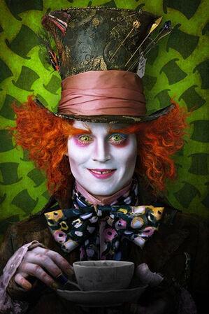 Alice in Wonderland iPhone wallpaper