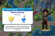 Q-welcome a sea dog