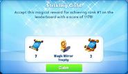 Me-striking gold-82-prize