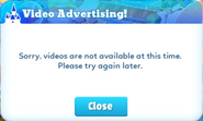 Popup-video advertising