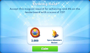 Me-striking gold-41-prize