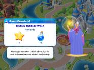 Q-bibbidy-bobbidy-who