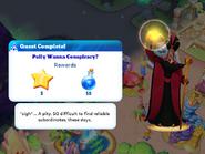 Q-polly wanna conspiracy