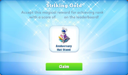 Me-striking gold-11-prize