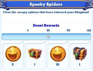 Me-spooky spiders-2-milestones