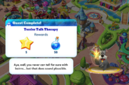 Q-terrier talk therapy