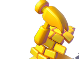 Wreck-It Ralph Gold Trophy