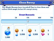 Me-clean sweep-3-milestones