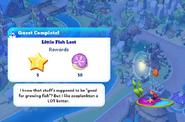Q-little fish lost