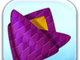 Purple Diamond Fabric Token
