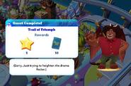 Q-trail of triumph