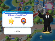 Q-welcome a social worker