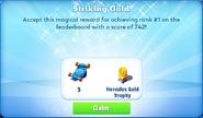 Me-striking gold-81-prize