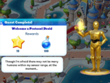 Welcome a Protocol Droid