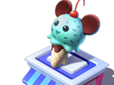 Mickey Ice-Cream Wishable Stand