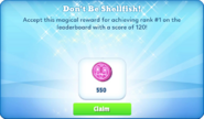 Me-dont be shellfish-1-prize