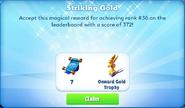 Me-striking gold-77-prize
