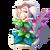 D-flower statue