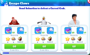 Q-escape claws-