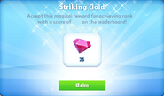 Me-striking gold-7-prize