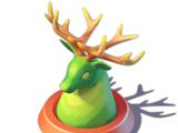 Antler Crown Topiary