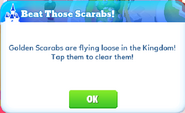Me-beat those scarabs