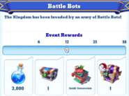 Me-battle bots-2-milestones