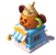 Bc-pumpkin demitasse stand