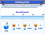 Me-striking gold-11-milestones