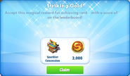 Me-striking gold-21-prize