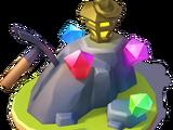 Mining Jewels Display