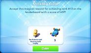 Me-striking gold-67-prize