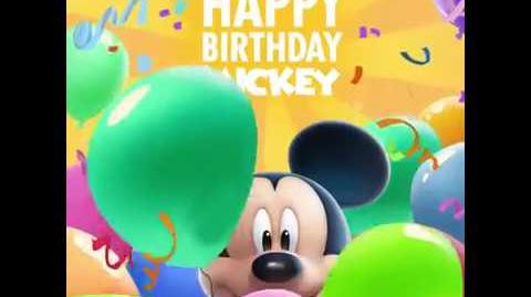 Mickey's Birthday Promotion